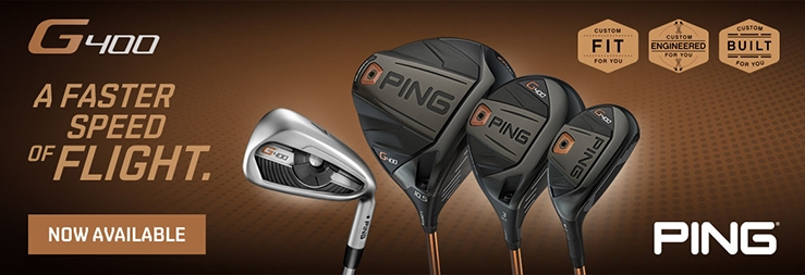 Flyer for Ping G400 Rentals